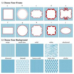 Paper Perfection: Food / Candy / Dessert / Ice Cream Buffet Label Squares