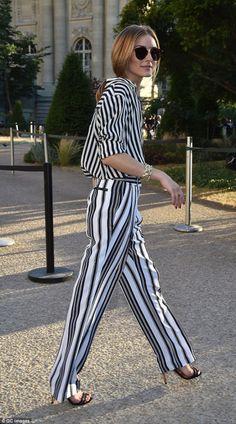 The Olivia Palermo Lookbook : Paris Couture Week 2015 : Olivia Palermo at Giambattista Valli