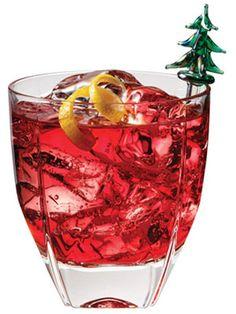 PAMA Pine    4 oz. Van Gogh Pineapple Vodka  4 oz. PAMA Pomegranate Liqueur  Splash of lime juice     Combine, shake, and serve.    Read more: Holiday Drink Recipes - Christmas Drink Recipes - Cocktail Recipes - Marie Claire