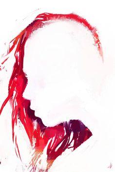Allison Gloe - Red mohawk