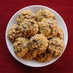 Pumpkin Oatmeal Chocolate-Chip Cookies