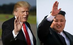"""HANOI — President Trump took time off from his morning in Vietnam to exchange insults with North Korean leader Kim Jong Un. """"Why would Kim Jong-un insult me by calling me 'old,'/ when I would NEVER call him 'short and fat?'"""" Trump said during a Sunday morning tweet storm in Hanoi that included a defense of his recent meetings with Russian President Vladimir Putin. Trump added: """"Oh well, I try so hard to be his friend - and maybe someday that will happen!&qu..."""