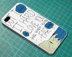 The Kooks Seaside Lyric Cover  iPhone 4 4S iPhone by FeelTheLyrics, $12.99