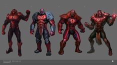 I was responsible for the sketches along with Hoi Mun, Francis Tneh and Yee Ling. The Final rendering was done by me and helped out a lot by Francis Tneh as I was still very new back Character Design Animation, Character Art, Red Lantern Corps, Injustice 2, Geek Art, Marvel Characters, Comic Books Art, Marvel Dc, Samurai