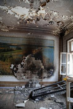 Abandoned hospital in Moscow