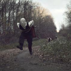 Nicolas Bruno - running away