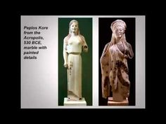 Mary McConnell's Greek art lecture 3 Archaic and Classical sculpture - YouTube