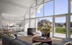 Eco-friendly Hupomone Ranch by Turnbull Griffin Haesloop Architects (4)