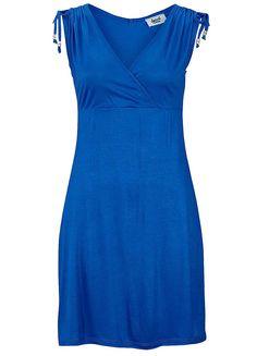 Beachtime Royal Blue V-Neck Beach Dress