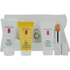 Eight Hour Set: Skin Protectant + Intensive Daily Moist Spf15 + Sun Defense Spf 50 + Lip Protectant --4pcs+1bag