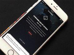 Movie-news App Interaction by Ghani Pradita