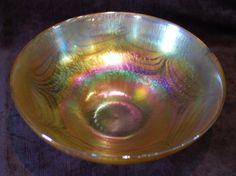 Golden Iridescent John Ditchfield Dish