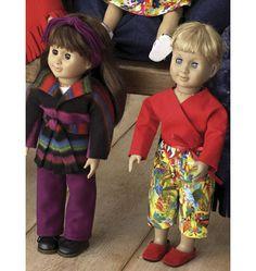 K3091, Doll Clothes Girl Doll Clothes, Doll Clothes Patterns, Doll Patterns, Clothing Patterns, Girl Dolls, Barbie Dolls, Kwik Sew Patterns, Doll Stuff, Doll Furniture