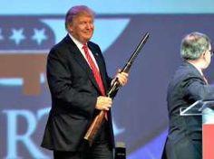 México no querrá 'jugar' a la guerra con nosotros, dijo Trump. Foto: AP