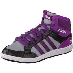 adidas Hoops Mid K Sneaker purple #girl #shoes