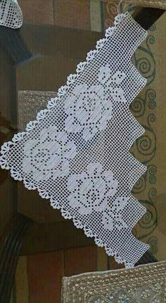 Pinterest Crochet, Ideas For Instagram Photos, Crochet Bedspread, Crochet Books, Valance Curtains, Deco, Free Crochet, Diy And Crafts, Crochet Patterns