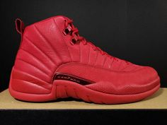 lowest price e4553 9289e Details about NEW DS Nike Air Jordan Retro 12 XII Retro Bulls Toro Gym Red  Black