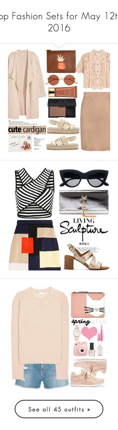 """""""Top Fashion Sets for May 12th, 2016"""" by polyvore ❤ liked on Polyvore featuring Tom Ford, self-portrait, Loeffler Randall, Lizzie Fortunato, NARS Cosmetics, Kofta, Estée Lauder, Oliver Peoples, Club Monaco and cutecardigan"""