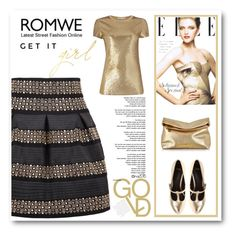 """""""ROMWE"""" by menina-ana ❤ liked on Polyvore featuring Michael Kors and ASOS"""