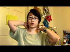 Baton Twirling Tutorial: Continuous Neck Roll - good series of tutorial videos