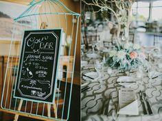 birdcage wedding ideas - photo by Emily Delamater http://ruffledblog.com/romantic-maine-wedding-with-glitzy-details