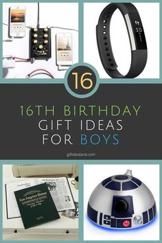 16 Great 16th Birthday Gifts For Boys, Him