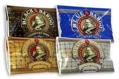 BAROO TOBACOO - Grafické návrhy obalov na tabak značky Baroo pre spoločnosť Eridanus, Bratislava. Bratislava, Graphic Design, Blue, Atelier, Visual Communication