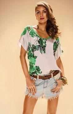 Look Morena Rosa