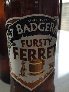 #61 Badger Fursty Ferret - Fresh, fruity and faintly nutty 3/5 (07/05/2015)
