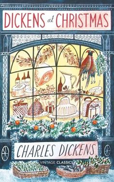 It has been said that Charles Dickens invented Christmas. It seems then only fitting that this quintessentially Christmas design be bestowed to a Dickens novel. A truly classic Christmas design from each object, to every colour used. Noel Christmas, Victorian Christmas, Christmas Books, A Christmas Story, Vintage Christmas, Christmas Hamper, Christmas Cover, Christmas Carol Book, Christmas Houses