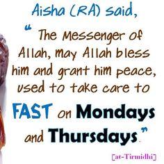 #Fasting #Sunnah