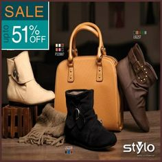 Stylo Shoes Winter Collection 2013 2014 for Women Kids Sale offer 11 Stylo Shoes Winter Collection 2014 for Women & Kids Sale Up to 51%