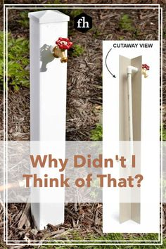 These ingenious tips, tricks and solutions to common problems are simple, smart and straightforward. Garden Yard Ideas, Garden Beds, Garden Art, Garden Landscaping, Decks And Porches, Chicken Coops, Green Garden, Water Supply, Diy Home Improvement