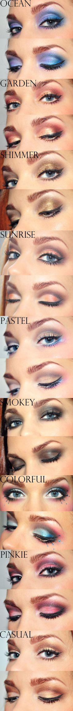 Eyeshadow Variety!