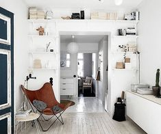 """4,630 Likes, 13 Comments - NORDIK SPACE (@nordikspace) on Instagram: """"Great use of space! via @stadshem#scandinavian #interior #homedecor #simplicity #whiteliving"""""""