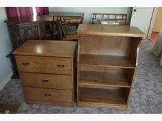 Dresser and bookcase Stuff For Free, Used Victoria, Dresser, Bookcase, Real Estate, Furniture, Home Decor, Powder Room, Decoration Home