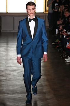 Richard James - Bold use of colour, but I think Matin Freeman wore it better at the BAFTAs