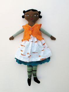 girl with fish dress by Mimi K, via Flickr