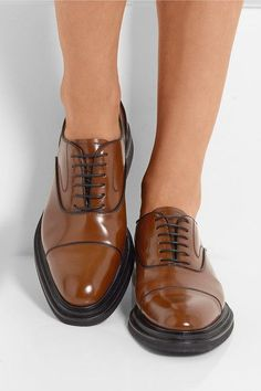Church's - Pam Leather Oxford Shoes - Tan - IT41