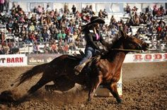 Tucson, AZ: Tucson Rodeo, Fallon Taylor photographed by Dan Hubbell