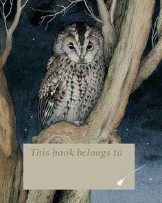 Valerie Greeley's bookplate printable