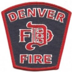 US State of Colorado, City of Denver Fire Department Patch Fire Dept, Fire Department, Fire Hall, Fire Badge, Firefighter Paramedic, Emergency Medical Services, Fire Apparatus, Fire Trucks, Ems