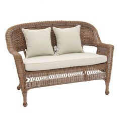 peachy better homes and gardens patio furniture replacement cushions. Turks Bay Rattan Indoor Outdoor Sofa  See more Main Image Zoomed furniture that looks like indoor So pretty