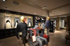 Diesel store, The Hague – Netherlands  Ideas for lounge