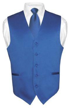 Men's Dress Vest NeckTie ROYAL BLUE Neck Tie Set for Suit or Tuxedo 4XL Vesuvio Napoli,http://www.amazon.com/dp/B002V1CR5W/ref=cm_sw_r_pi_dp_EFGYrb0Z29VFGX93
