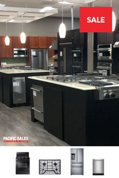 Create the kitchen of your dreams. The Pacific Sales expert staff is here to help bring your dream a reality.