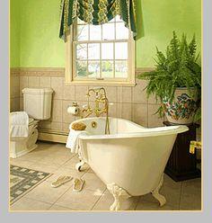 The tub......
