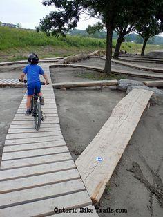 easy boardwalks for kids - All For Garden Dirt Bike Track, Mtb Trails, Bicycle Workout, Kids Bicycle, Bike Path, Bike Parking, Kids Ride On, Pista, Skate Park