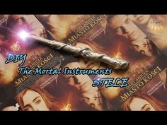 DIY The Mortal Instruments STELE - YouTube
