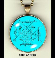 Talisman Collection 1: occult photo pendants - Gene's Weird Stuff  - 1